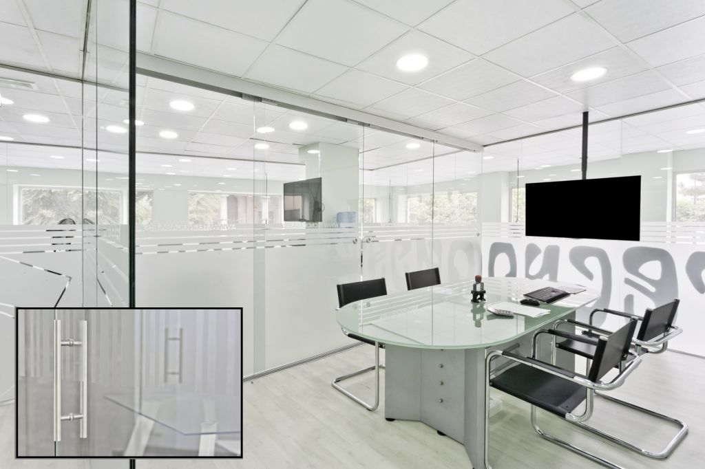 Mamparas de oficina la cristaler a de madrid for Oficina fedex madrid
