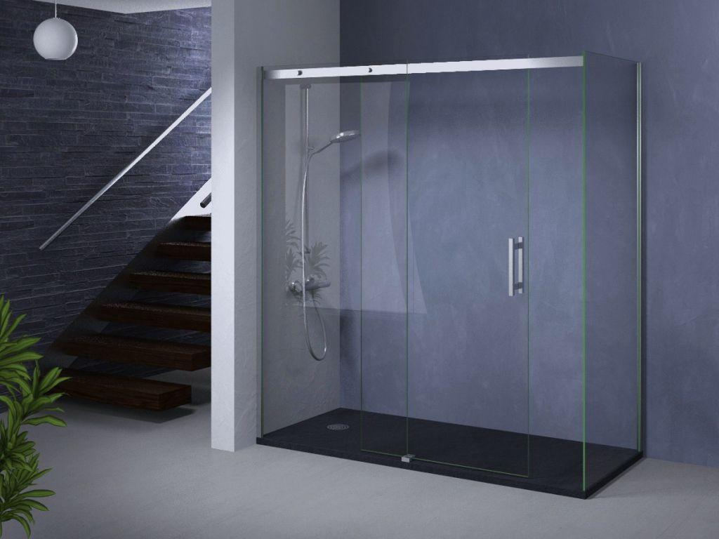 Mamparas de ducha la cristaler a de madrid for Duchas modernas precios