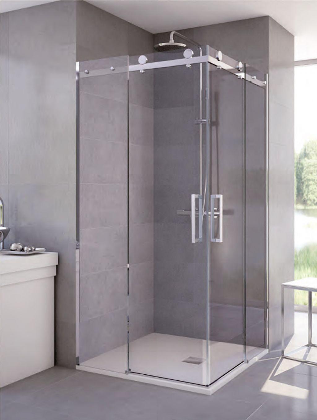 Mamparas de ducha la cristaler a de madrid - Platos de ducha con mampara ...